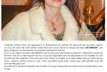 Oriental Fashion Show / LES BIJOUX JEZ DEBUGEY ILLUMINENT LA FASHION WEEK PARISIENNE Le coup de cœur de cette fashion week était sans aucun doute la marque de bijoux JEZ DEBUGEY ; des bijoux originaux, contemporains et contrastés fabriqués en France.