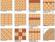 Brick landscaping