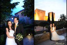 Novias de Noche / Con magia, encanto y un toque romántico. Os presentamos las fotografías nocturnas de nuestras parejas...