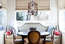 banquettes & breakfast nooks / by Lauren Robinson