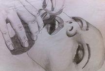 Design / Desenhos a lápis