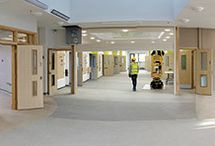 2017 Highly Commended - Broadmoor Hospital Redevelopment / Hybrid design and construction, incorporating over 6150 precast concrete components and in-situ reinforced concrete using DfMA and BIM, have been employed for three new ward buildings and an entrance/administration building. Off-site manufacture to exacting specification needs and tight tolerances with high-quality finishes was maximised to ensure rapid construction.