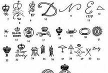 Pottery marks