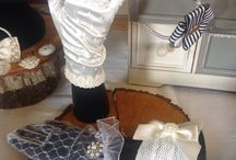 Lilly Dilly's bespoke customised gloves / Hand customised gloves for special occasion by Lilly Dilly's x