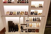 Walk-In Closet Inspirations / These walk-in closets can hold all the shoes, clothes, and accessories you could ever want!
