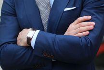 Modré obleky