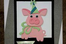 Kort med grise