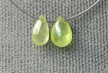 Stone Beads > Chrysoberyl Beads / Natural Chrysoberyl Beads in every shape, style and size.
