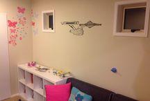 Girls new room / Shared girls room