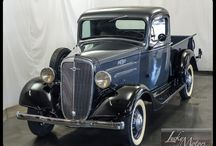 Automobiles / My personal wish list for a pickup truck. Any Chev from the 1930's or earlier. Even some of the Studebakers and Hudsons are slick. But nothing customized, the more original it is, the better it looks. Barn finds are the best!