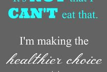 Healthy and clean diet and lifestyle quotes