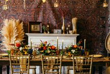 Luxe 70's Thanksgiving Surprise Wedding Inspiration