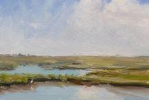 Art - Painting the Marsh