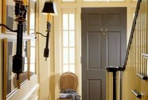 Entryway / The entryway is like a mission statement to the home. The first and last impression of the home and of those that live there.  / by Liz Long
