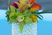 Centerpieces / Centerpieces of flowers, candles, and more!