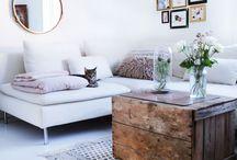 Hvit stue