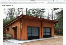Garage barn house