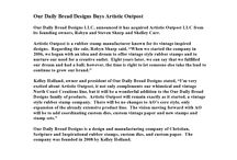 Company News / Company News from Our Daily Bread Designs  http://www.ourdailybreaddesigns.com/index.php/company-news