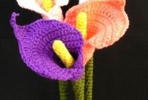 calla lilly flower crochet patternHobbies and crafts