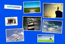 Career Journey by Diana Dawson www.workingcareer.co.uk / What does your career journey look like? Is it a fast track or small stepping stones to get to where you want to go?