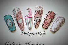 vintage-shabby nailart