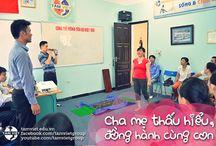 """Cha mẹ thấu hiểu, đồng hành cùng con / Hình ảnh của chương trình """"Cha mẹ thấu hiểu, đồng hành cùng con"""" do Tâm Việt tổ chức dành tặng các bậc phụ huynh có con đã tham gia các khóa học mùa hè hàng năm."""
