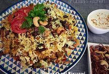 Pulao and Biryani / Rice variety