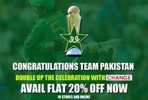 Congratulations Team Pakistan