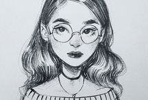 Inspirações para desenhos