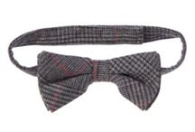 Kid's Fashion / Houndstooth Plaid Bow Tie color: Merry Grey Plaid Gymboree Canada $5.39 includes 40%off item#140144374