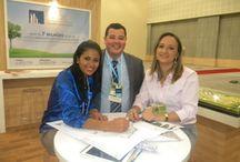 AGC Gestão no Salão Imobiliário / A AGC esteve presente no Salão Imobiliário que aconteceu no Centro de Convenções em Fortaleza/CE entre os dias 03 e 06 de outubro
