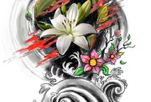 My Tattoo Designs / Tattoo designs made by myself for clients and for fun