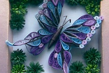 Quilling beautiful  art