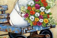Stella Bruwer's paintings