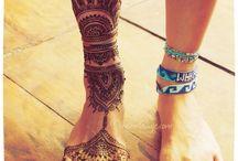 Henna für Füße
