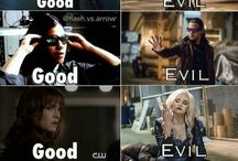The flash/Arrow/CW / Don't run...