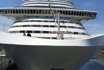 """MSC Divina / Sophisticated beauty and elegance adorn this ship with the help of Sophia Loren a personal friend of the Onorato Family. Let us take you back to the """"Rat Pack"""" era!"""