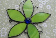 Sunbather / Lime green suncather