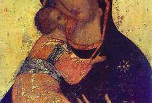 icone schemi / arte antica sacra