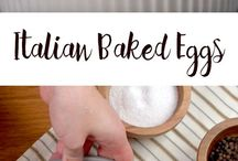 Baked recipes