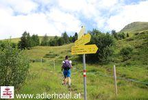 Wanderung am Nauderer Höhenweg / Im Hotel Schwarzer Adler in Nauders, sind Sie der Natur ganz nahe und werden einen herrlichen Wanderurlaub verbringen. Die Bilder sind von einer Wanderung auf dem Nauderer Höhenweg, eine der vielen Wandermöglichkeiten bei uns im Dreiländereck bei Österreich, Italien und der Schweiz.