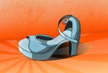 My fashion illustration / Sketch et colorisation sur photoshop