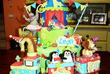 Circus Cakes