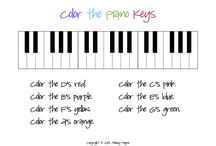Piano Resources / Things to use in piano lessons