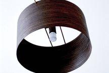 Ξύλινα φωτιστικά οροφής / Wooden and veneer ceiling lamps / Χειροποίητα φωτιστικά από ξύλο και καπλαμά.