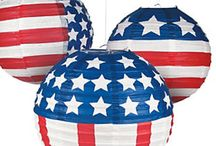 Americana * Patriotic * 4th of July / Fun items for fourth of july, patriotic, american themed events and celebrations.