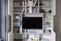 Quarto/sala de tv