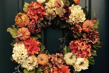 Wreaths and arrangements