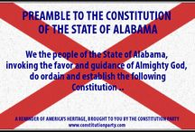 STATE PREAMBLES / Many people say that God is not a part of government.  The Constitution Party says God has always been a part of the American Constitutional Republic, with religious freedom being guaranteed to all in both the public and private sector.   This Constitution Day we show that each state has also recognized the influence of a higher power in each of their state constitutions. / by The Constitution Party