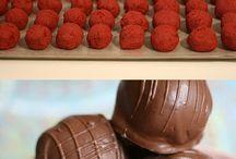 chocolates / pralines